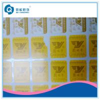 Buy cheap Die Cut Vinyl Stickers , Silk Screen Fragile Labels For Car / Motorcycle product