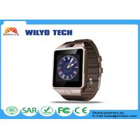 Buy cheap DZ09 Cell Phone Wrist Watch For Android With SIM Card Camera SMI / TF product