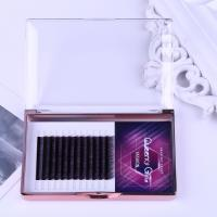 Buy cheap Gradual Purple Blooming Eyelash Individual Extensions 0.07mm Thickness Hand Made from wholesalers