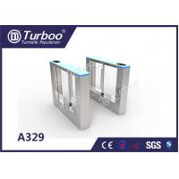 Quality Retractable Flap Barrier Office Security Gates Anti - Temperature And Sunscreen for sale