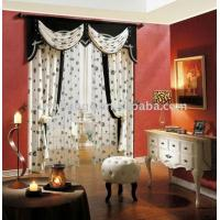 China Beige Colour Ready Made Curtain on sale