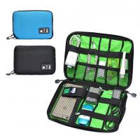 Buy cheap Digital Cable Organizer Travel Storage Bags Size  Customized With Zipper product