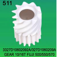 Buy cheap 3327D10602092A / 327D1060209A GEAR TEETH-10/16 FOR FUJI FRONTIER 500/550/570 minilab product