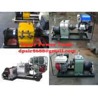 Buy cheap cable puller,Cable Drum Winch,Cable pulling winch product