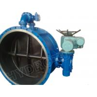 Quality Gear Operated Flanged Butterfly Valve 1000mm for Hydropower for sale