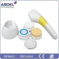 China Dry Cell Removal Electric Facial Cleansing Brush with 2 AA Batteries Operated wholesale