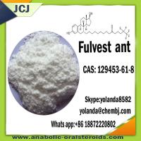 Buy cheap Faslodex CAS 129453-61-8 Anti Estrogen Steroids Bodybuilding Anti Estrogen Hormone product