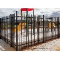 Buy cheap Safely Metal Modern Zinc Steel Fence Tubular Picket Fence For Downtown from wholesalers