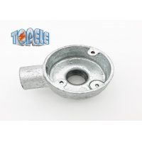 Buy cheap Long Life BS4568 Conduit Malleable Iron 20mm 25mm Terminal And Back Outlet Box product