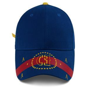 Buy cheap Custom Embroidery Cotton 58cm Six Panel Baseball Cap product