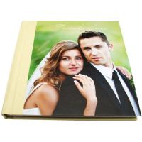 Buy cheap Professional Yellow Crystal Cover Wedding Album 12 x 18 Photo Album product