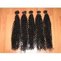 Natural hair hand tied weft