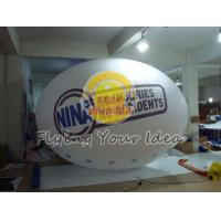 Buy cheap Huge Two sides digital printed Oval Balloon with Good Elastic for Outdoor Advertising product