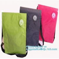 Buy cheap Factory custom recyclable folding laminated pp non woven bag shopping with heat transfer printing non woven fabric carry product