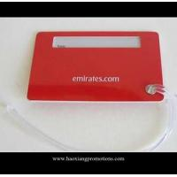 Buy cheap custom design soft PVC rubber tag special rubber tag customized size metal luggage tag product