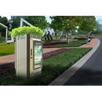 Beautify Fiber Distribution Cabinet With Wifi Launch Function / Ad Putting Function