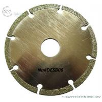 Buy cheap Electroplated Segmented Saw Blades - DESB06 product