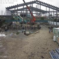 China Prefab Metal Structure Buildings for Cold Room Storage, Workshop on sale