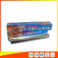 China OEM Kitchen Aluminium Foil Roll Food Grade For Cooking / Freezing wholesale
