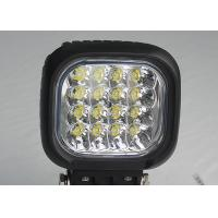 Quality Square Vehicle LED High Power Driving Lights 48W 6000K 4600 lumen for sale