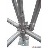 Buy cheap Galvanized Ringlock Scaffolding System , Pin Lock Scaffold Dia 48.3 X 3mm product