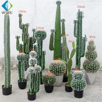 Buy cheap Various Type Artificial Bonsai Tree , Fake Cactus Plant For Theme Attractions Decoration product