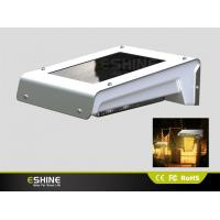 Buy cheap IP65 Waterproof Aluminum Solar Motion Security Light Dim Wall Mount with Pure/Warn White Led product