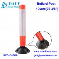 China 100cm reflective bollard,road bollards,road delineators,road marker,road sign post,safety bollards,safety markers wholesale