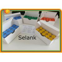 Buy cheap Selank Injectable Body Hormone Peptide Selank 5mg/vial 129954-34-3 Purity: 99% product
