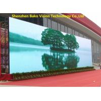 Quality Brightness Adjustable Outdoor Led Screen Hire 3.91mm Pixel 160°/140° Viewing for sale