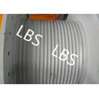 Buy cheap Hydraulic Crane Winch For Boat / Truck , Windlass Anchor Winch With Lebus Drum product