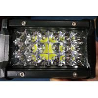 Buy cheap 6 Inch 54W Philips Led Work Lights 12v Trip Row 6500k Multiple Colors product