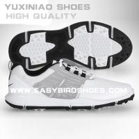 China china brand top layer leather golf shoes sneakers high quality for male, men sport golf shoes business no spike on sale