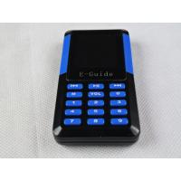 Buy cheap 006A Handheld Tour Guide Radio Systems , Portable Wireless Tour Guide Headsets product