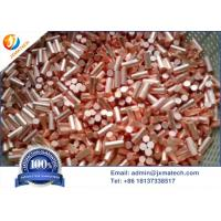 China Customized Size 6N Electrolytic Grade Copper Granular Evaporation Material on sale