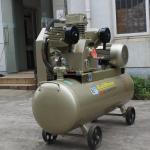 Ac Power Belt Driven15kw 0.8Mpa Piston Air Compressor With Air Tank KS Series