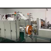 Buy cheap N95 KN95 Non Woven Face Mask Making Machine Semi Automatic Strong Fixation product