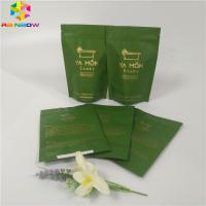 China Salts Foil Pouch Packaging Zipper Top Stand Up Ziplock Bath Salt Bag Aluminum Foil on sale
