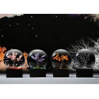Buy cheap Ball Shape Crystal Decoration Crafts Designed With Four Seasons Tree product