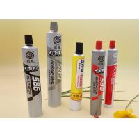 Buy cheap Printed Adhesive Tube Packaging Screw / Flip Top / Customized Cap product