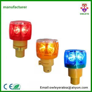 China Outdoor Road Safety Solar Energy 6pcs LED Strobe Warning Light on sale