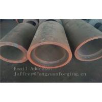 Buy cheap C15  Forged Sleeves  Forged Tube / Block with hole Forged Ring Normalized And Proof Machined product