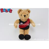 """Buy cheap 5.5"""" Brown Club Teddy Bear With Club Logo Printing T-shirt And Shoes product"""