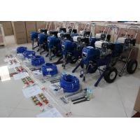 Quality 8.3L/Min Heavy Duty Gas Airless Paint Sprayer With High Performance Honda Engine for sale