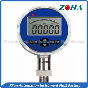 China Economical Digital Air Pressure Gauge / Water Proof Electronic Pressure Meter on sale
