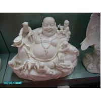 Buy cheap Carved marble maitreya buddha statue from wholesalers