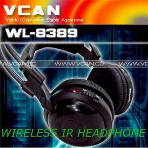 China Singal channel IR wireless headphone on sale