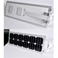 Buy cheap Integrated 20W Solar Street Light Aluminum Alloy Waterproof Lighting For Street product