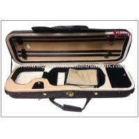 Buy cheap Oblong Foamed Lightweight Violin Case With Water Prooffabric Exterior ISO9001 product