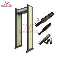 Buy cheap Checkpoint  X Ray Walk In Pass Through Metal Detector , 45 Zone Metal Detecting Equipment from wholesalers
